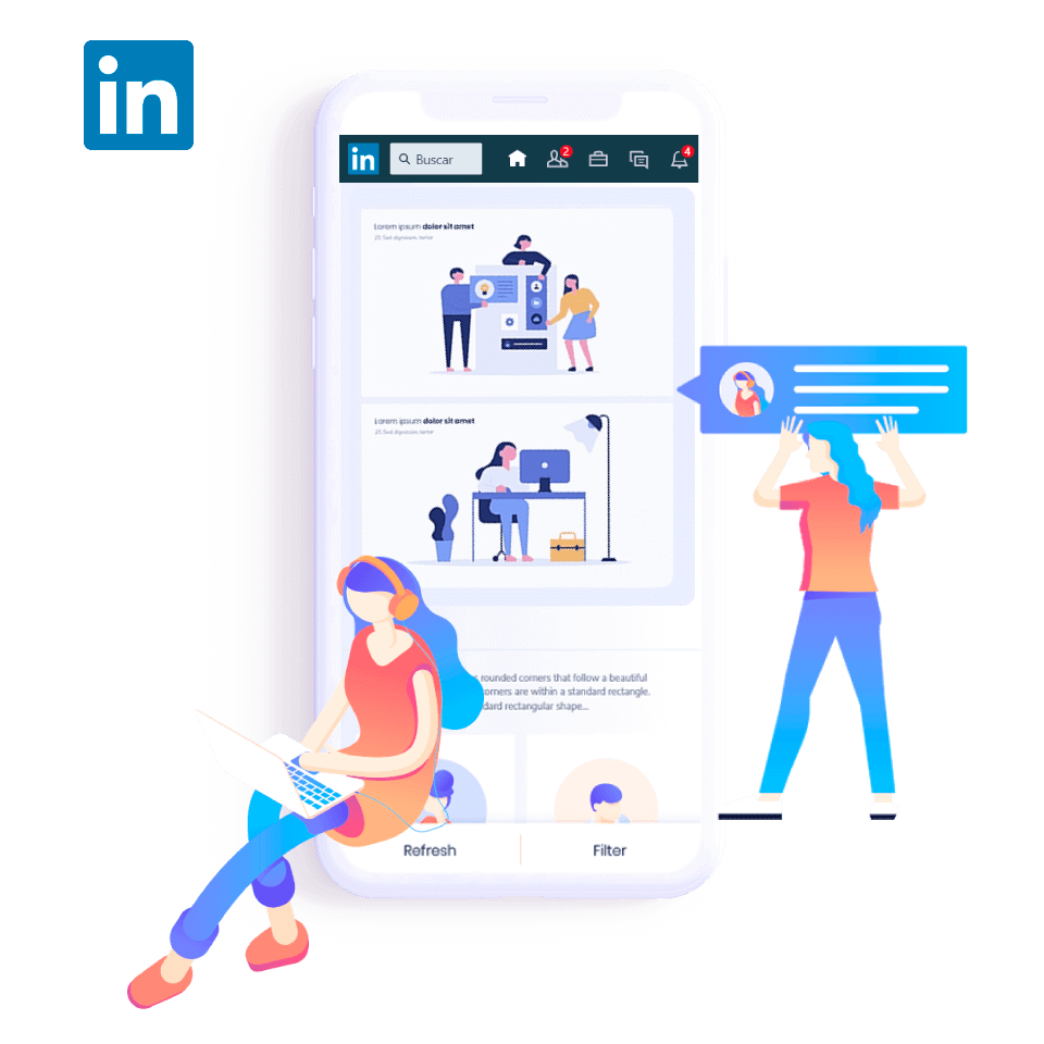 Linkdin Marketing Service